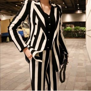 Striped Suite- Halloween Costume